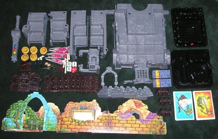 Dark World Board Game Spare Parts By Mattel 1992