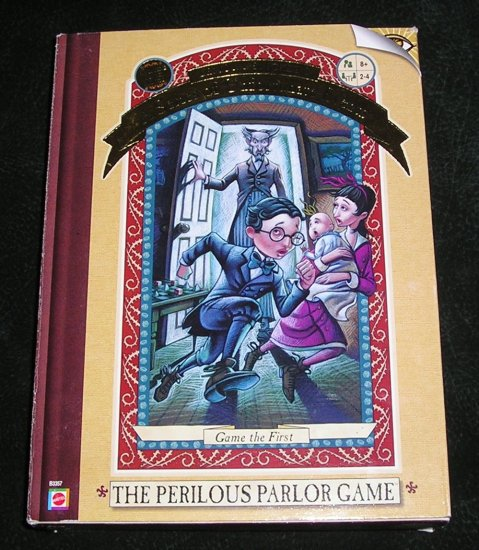 A Series Of Unfortunate Events Lemony Snicket The Perilous Parlor Game By Mattel