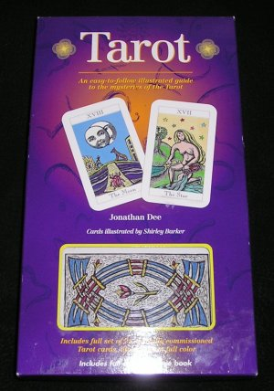 Tarot Cards And Illustrated Book Set By Jonathan Dee