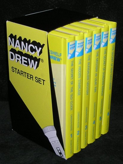Nancy Drew Starter Box Set by Carolyn Keene Volumes 1-6 Hardcover Books