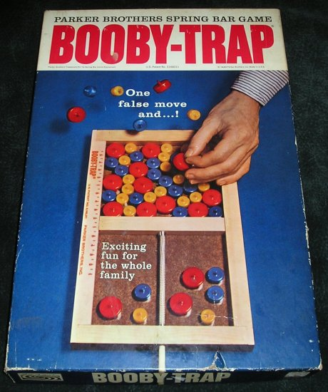 Vintage Booty Trap Game By 1965 Parker Brothers