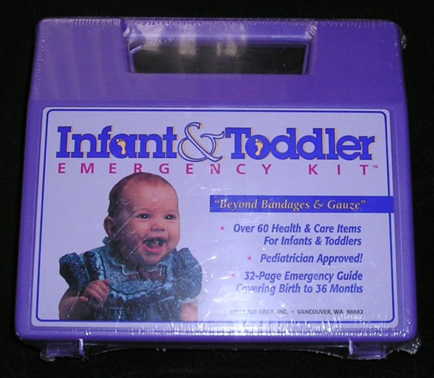 Infant & Toddler Emergency First Aid Kit Sealed