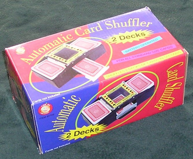 2 Deck Automatic Card Shuffler By CHH Games