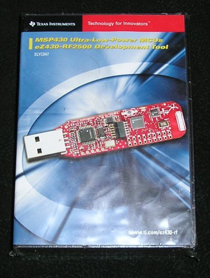 Texas Instruments EZ430-RF2500 TI Development Tool New