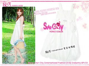 ECA7T-21127  Dress ( White)