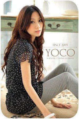 YC1322 Poky Dot Off Shoulder Dress- Black