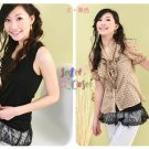 CT10553/RL7025 Comfortable Cotton T with Lacy Bottom-2 colors available