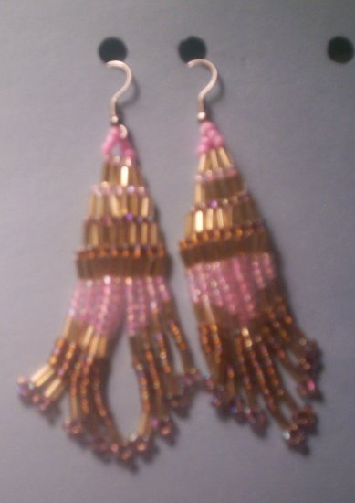 Pink and Gold Dangels