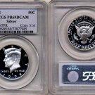 1998 S Kennedy Silver Half Dollar PCGS PR69DCAM * FREE SHIPPING *