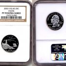2003 S Clad Maine State 25ct * NGC PF 70 UCAM * 70 FREE SHIPPING