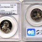 2000-S Sacagawea Golden Dollar PCGS PR69DCAM FREE SHIPPING