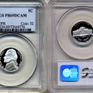 1998-S Jefferson Nickel Certified PCGS PR69DCAM * FREE SHIPPING *