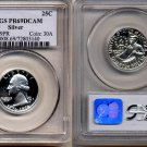 1976-S Silver Bicentennial Washington Proof Quarter * PCGS PR69DCAM  * FREE SHIPPING *