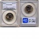 2001-P Sacagewea Golden Dollar * PCGS MS67 * FREE SHIPPING