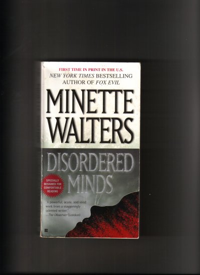 DISORDERED MINDS BY MINETTE WALTER