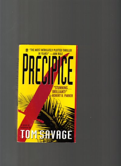 PRECIPICE BY TOM SAVAGE
