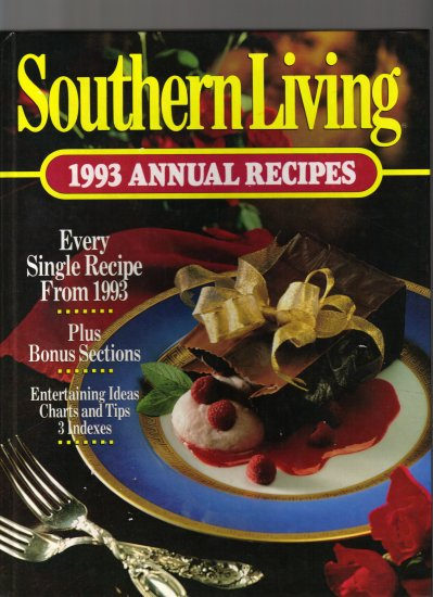 SOUTHERN LIVING;1993 ANNUAL RECIPES