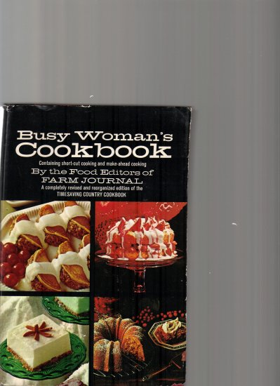 BUSY WOMAN'S COOKBOOK