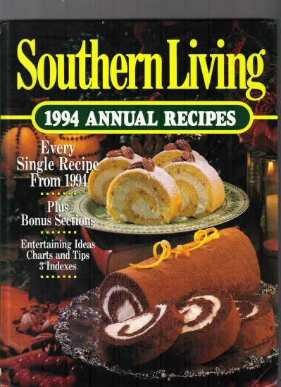 SOUTHERN LIVING;1994 ANNUAL RECIPES