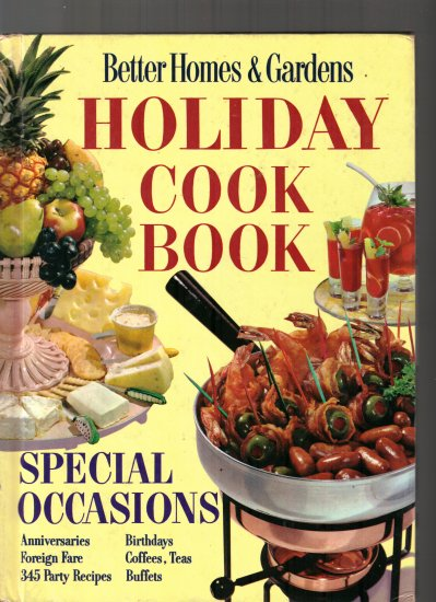 BETTER HOMES AND GARDENS-HOLIDAY COOKBOOK