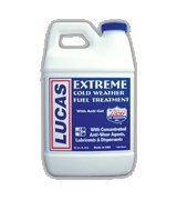 Lucas Cold Weather Fuel Treatment - Case of 1/2 Gallons (6x1), #10021