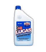 Lucas High Performance Motorcycle Oils - Syn. 5-20 Case of Quarts (6x1), #10704