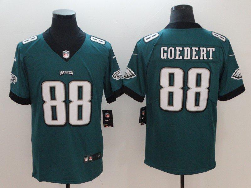 759326df2fa Men's Philadelphia Eagles #88 Dallas Goedert Green Limited Jersey