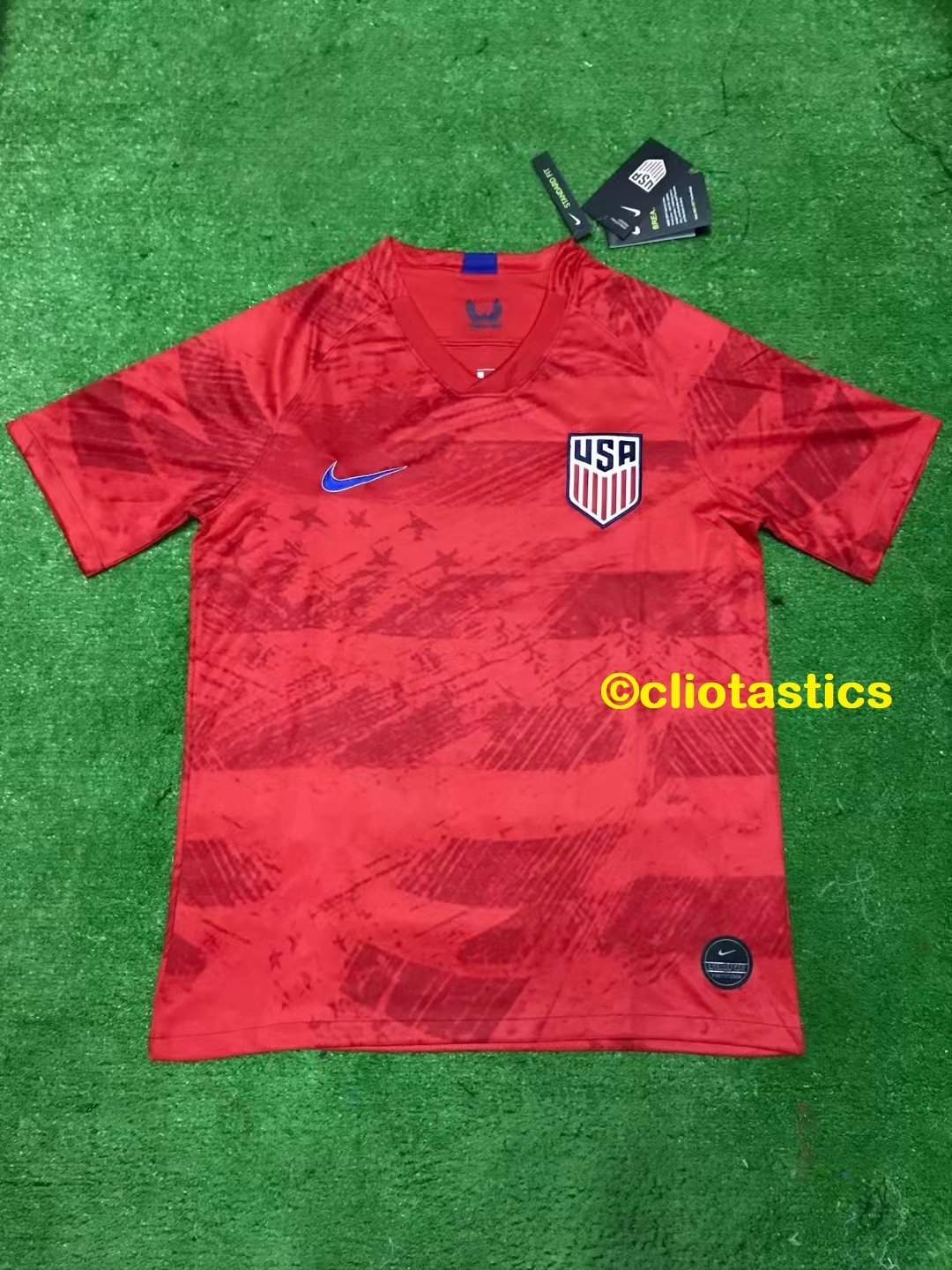 best sneakers b7dab f5657 Men's USA 2019/2020 USMNT USWNT US Soccer Jersey - Red