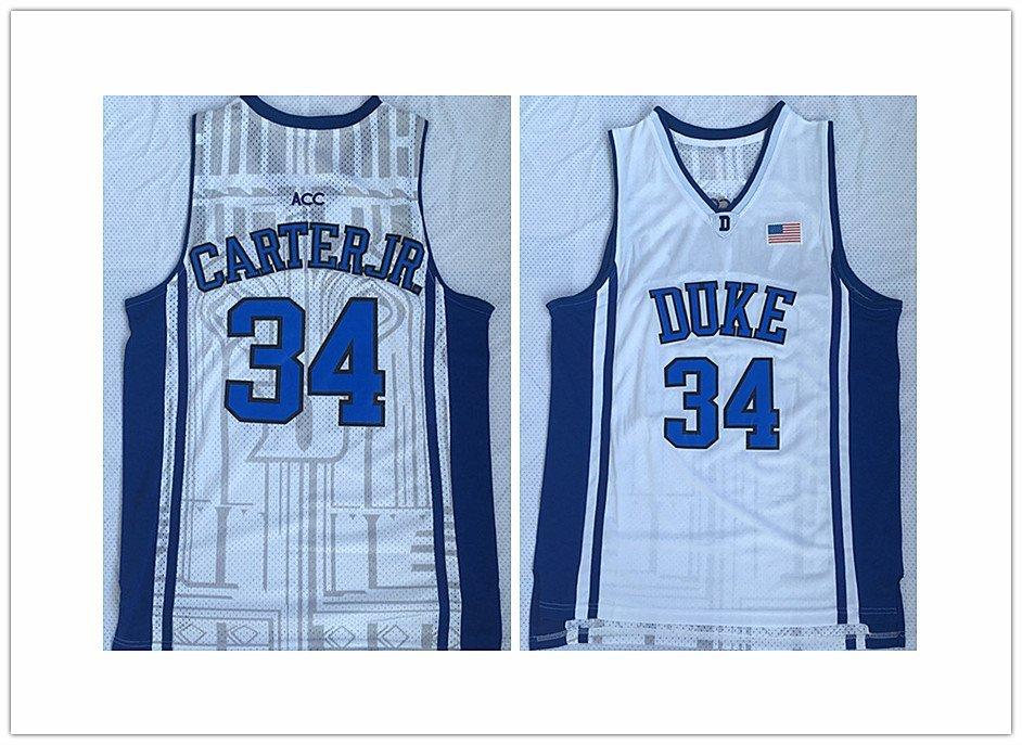pretty nice 19abf d3a99 Men's Duke University Blue Devils 34# Wendell Carter ...