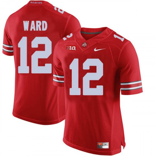 buy popular 1d032 822df Any Size Ohio State Buckeyes 12# Denzel Ward Game NCAA ...