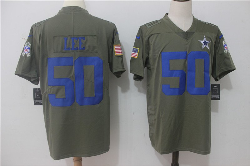 finest selection 0fa45 e54b0 Any Size Dallas Cowboys #50 Sean Lee Salute To Service ...