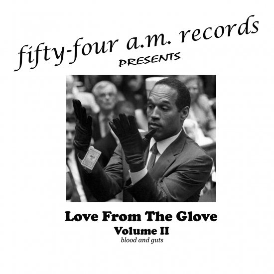 Love From The Glove - Volume II - blood and guts (2009)