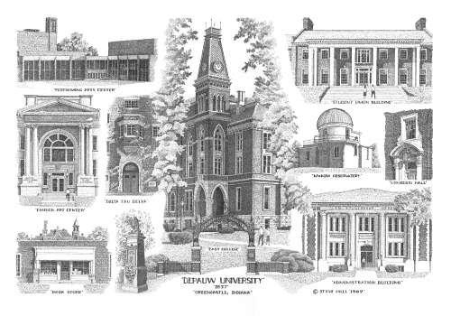 Depauw University - Greencastle, Indiana
