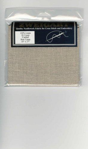 Cashel Raw Linen  28ct  18 x 27