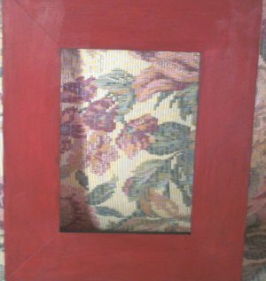 Red Frame with Black Edges