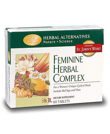 Feminine Herbal Complex (60 tablets) single