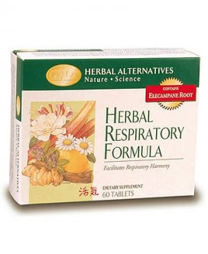 Herbal Respiratory Formula (60 tablets) case Qty.6