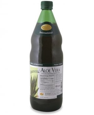 Aloe Vera - Carbonated 33.8 fluid Oz. (1 L) Case Qty. 6