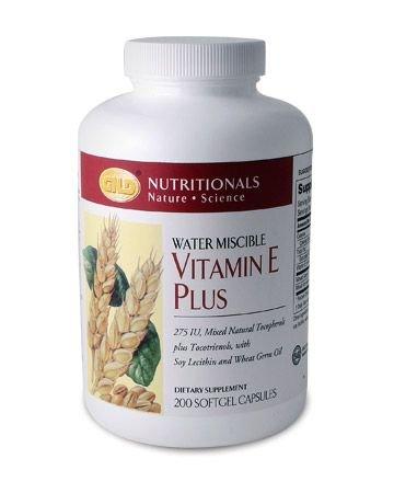 Vitamin E plus (200 capsules) 275 IU case Qty.6