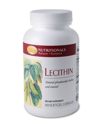 Lecithin (130 capsules) case Qty.6