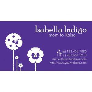 Indigo Mommy Card