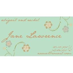 Floral Jane Mommy card