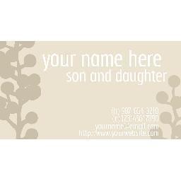 Mocha Mommy Card
