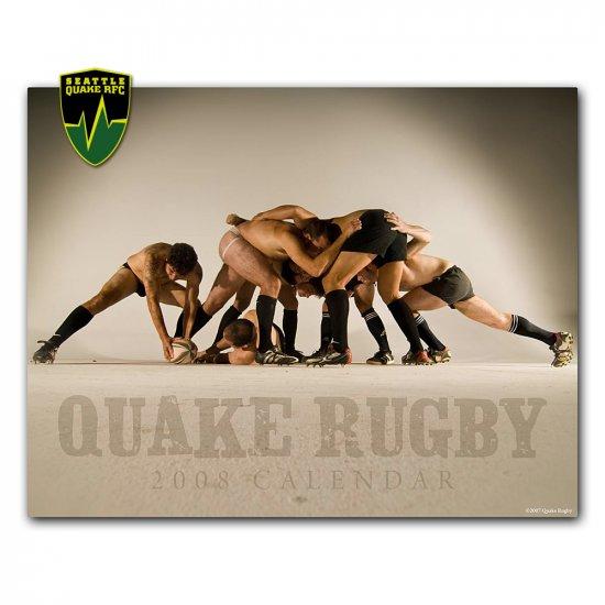 2008 Quake Rugby Calendar