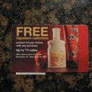 FREE Signature Collection Product with ANY purchase! BATH & BODY WORKS CERTIFICATE! GIFT CARD!