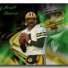 Brett Favre Photo , #4 Green Bay Packers Custom NFL Canvas Print (nfl001)
