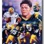 Brett Favre Photo , #4 Green Bay Packers Custom NFL Canvas Print (NFL003)