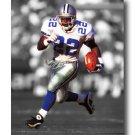 Emmitt Smith Photo, #22 Dallas Cowboys NFL Canvas Print (NFL016)