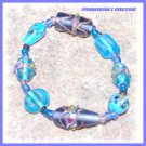 Blue, Blue, and Blue Bracelet