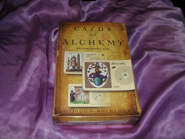 Cards of Alchemy by Raymond Buckland